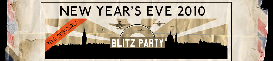 The Blitz Party New Years Eve 2010
